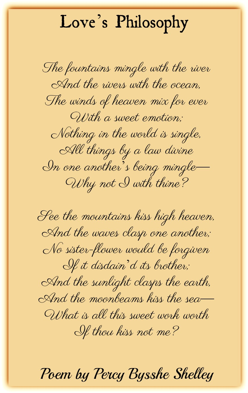 Famous Love Poems | Classic Love Poetry