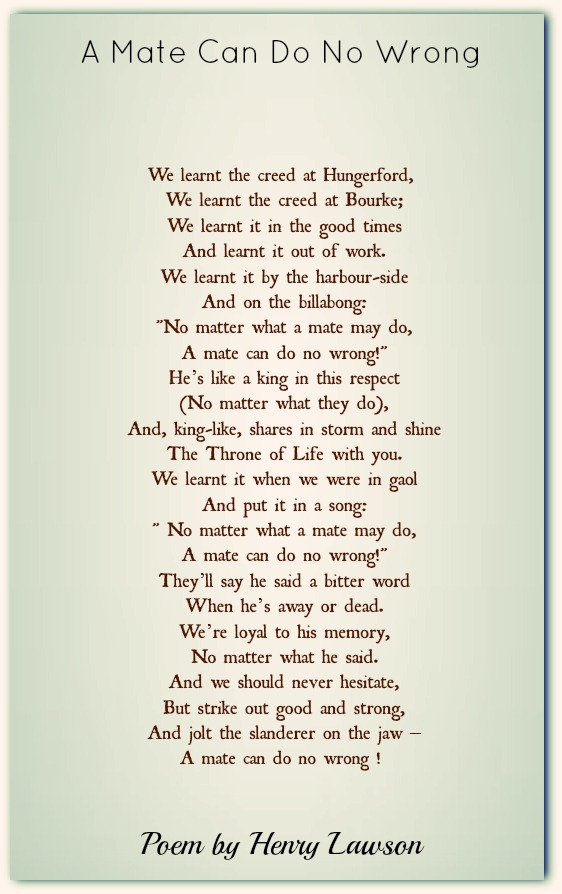 Henry Lawson Poems | Classic Famous Poetry