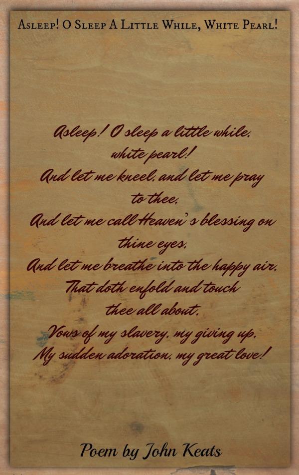 John Keats Poems Classic Famous Poetry