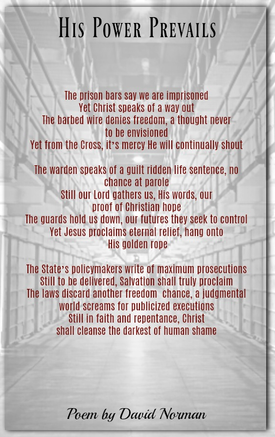 Prison Poems Words From Those Without Freedom