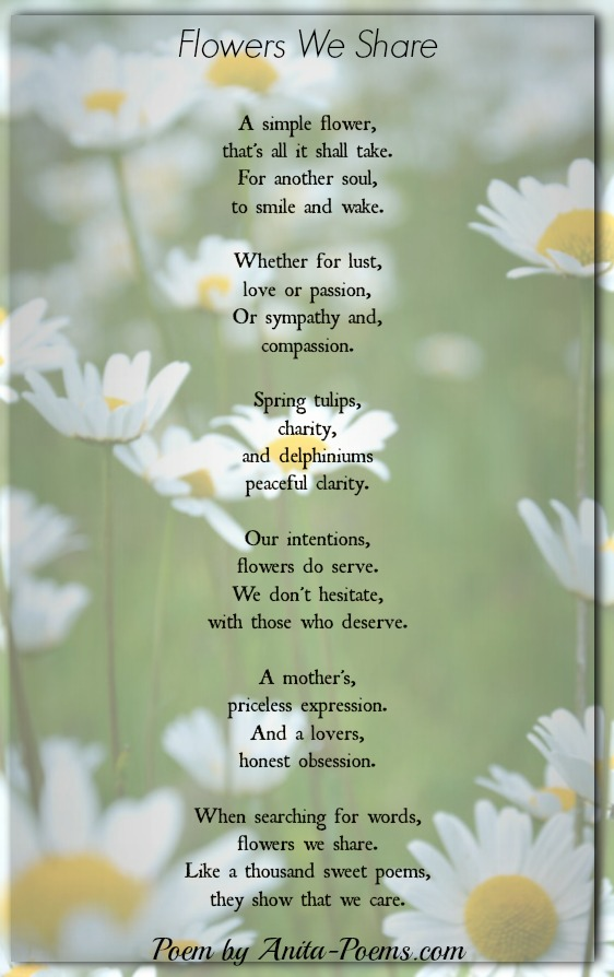 Flowers We Share Inspirational Poems