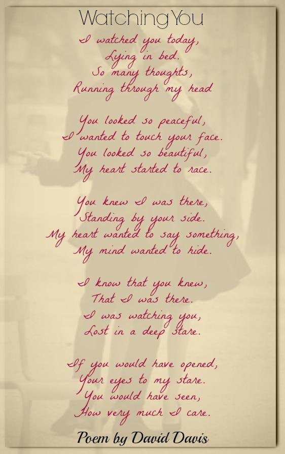 Love david i poems you Loving You!,