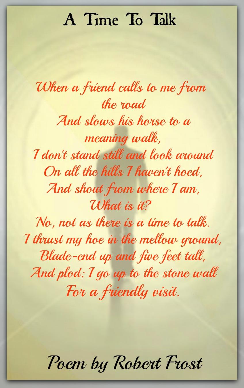 robert frost five poems