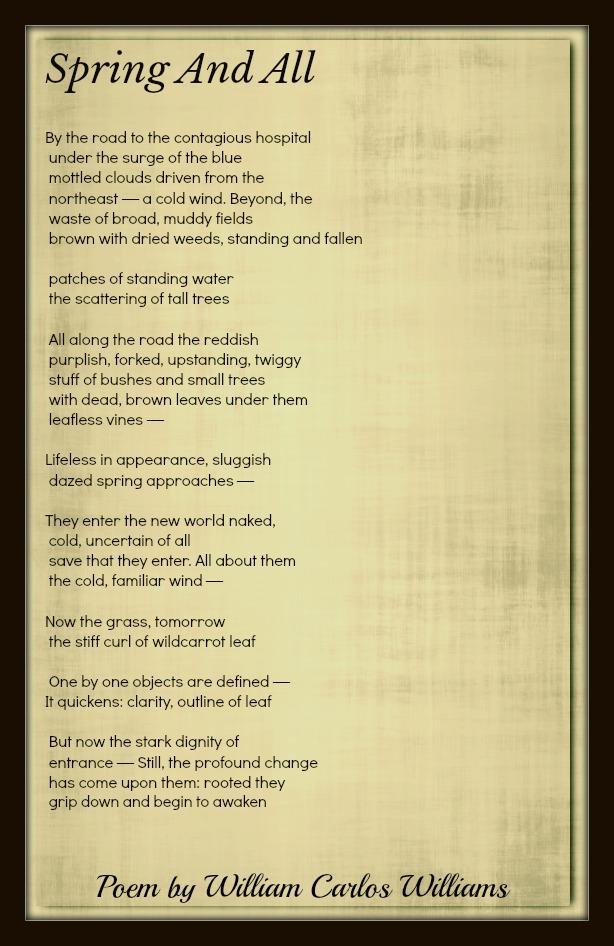 William Carlos Williams Poems Classic Famous Poetry